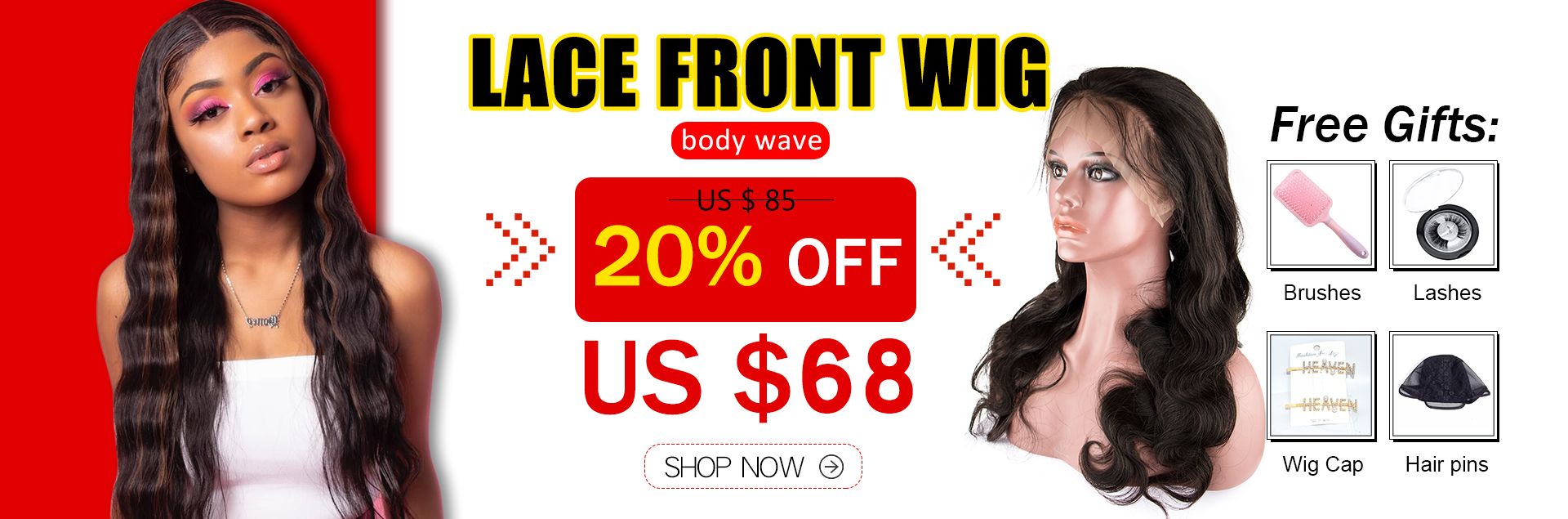 Body Wave Virgin Hair Lace Front Wig