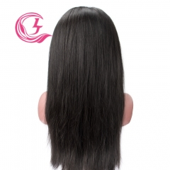 Raw Hair Straight Front Lace Wig  Make By Three Bundles+A Closure  Small Cap Transperant Lace Wholesale