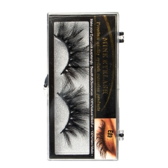 25mm Mink Lashes 5D Sari E  Factory Directly Wholesale price